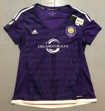 MLS Orlando City Lions SC Adidas Soccer Jersey Size Women's XL Retail $75