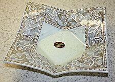 Arte Murano Kristall Mery Lavorazione a Mano Plate/Bowl