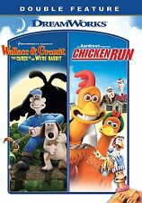 Wallace & Gromit: The Curse of the Were-Rabbit / Chicken Run (DVD 2 disc) NEW