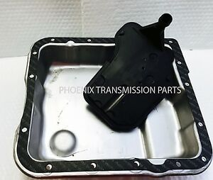 4L60E Transmission Oil Pan 1997-2003 -  Deep with New Gasket and Filter fits GM