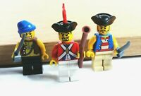 Lego Minifigures From Set 6243 Brickbeard's Bounty Pirates Imperial Soldier