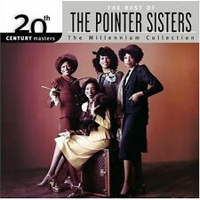 Best Of The Pointer Sisters-Millennium Collection - Pointer Sis (2004, CD NIEUW)