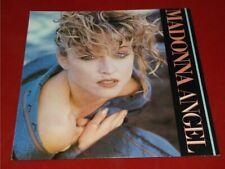 "Madonna:  Angel     UK  NEAR MINT    7""  (Paper labels)"