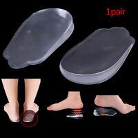 1pair Silicon heel Cushion Insoles Soles Relieve Foot Pain Protectors Shoe P lb