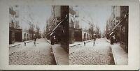 Ville A Identificare Foto Stereo Amateur snapshot n21 Vintage Citrato c1900