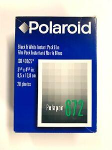 Polaroid Type 672 Twin Pack 20 Exposures