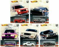 2020 Hot Wheels Power Trip Set of 5 Cars Car Culture 1/64 Diecast Cars