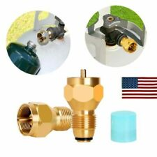 Propane Refill Adapter Gas Cylinder Tank Coupler Heater For Camping Cooking BBQ