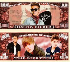 Justin Bieber Million Dollar Novelty Money
