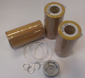 Volvo oil change kit filters wrench and drain plug washers 8692305