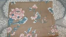 Vintage Cotton Fabric-Springs-Marti Michell-BROWN/ CORAL/GREEN PRINT-2 yards
