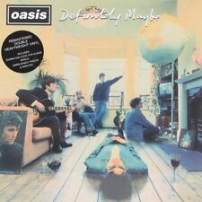 DEFINITELY MAYBE  OASIS Vinyl Record