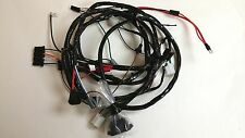1967 Impala Belair Caprice Forward Front Light Wiring Harness With Gauges SS T78