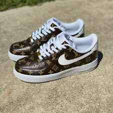 Luxury Brown All Ova @CoolOutSessions Custom Nike Air Force 1