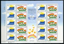 Korea Süd 2012 Kinder Zeichenwettbewerb Kinderzeichnung 2875-2876 Kleinbogen MNH