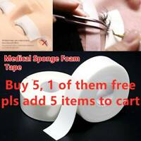 5m/Roll Foam Sponge lash Patch Medical Tape Lint Free Eye Pads Under Patches