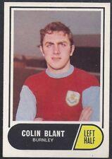 A&BC-FOOTBALL 1969 GREEN BACK FACTS-#002- BURNLEY - COLIN BLANT