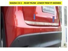 MAZDA CX-5 REAR TAILGATE LOWER TRIM BEZELS PLASTIC CHROME FINISH YT-MZD003
