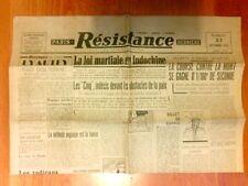 JOURNAL QUOTIDIEN / LE PROGRES DIMANCHE N° 796 / 21 JUILLET 1968 / PARACHUTISME