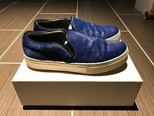 Celine Skate Shoes 37 Blue Pony Hair