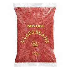 Miyuki Wholesale 15 Beads 15-2040 Matte Metallic Dk Maroon 250g (N99/4)