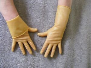 RUBBER / LATEX UNLINED GLOVES HOUSEHOLD