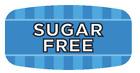 "Sugar Free Labels 1000 per Roll Food Store Flavor Stickers .625"" X 1.25"""