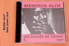 Memphis Slim - All Kinds of Blues  Blacks  Mother Erath ... 10T Boitier neuf CD