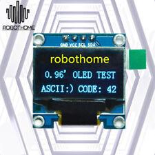 0.96in IIC Serial 128X64 Yellow Blue OLED LCD LED Display Module SSD1306 Arduino
