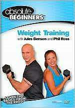 ABSOLUTE BEGINNERS FITNESS: WEIGHT TRAINING WITH (J Benson) - DVD - Region Free
