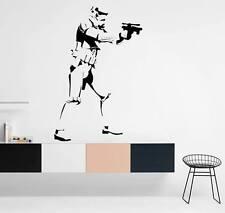STAR Wars Soldato Camera Da Letto Preventivo Adesivi Da Parete ARTE Camera Rimovibile Decalcomanie fai da te