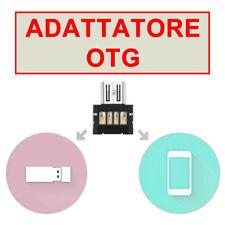 CELLULARI SMARTPHONE ADATTATORE OTG MICRO MOUSE USB KEYBOARD PENDRIVE go