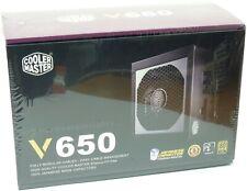 Cooler Master V650 ATX 650W Power Supply Black 80+ GOLD BRAND NEW