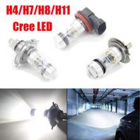 2X H4/H7/H8/H11 Cree LED 6500K 200W 20SMD Super Bright Niebla Fog Light Bombilla