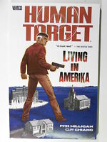DC VERTIGO HUMAN TARGET # 2  LIVING IN AMERIKA ( Paperback )