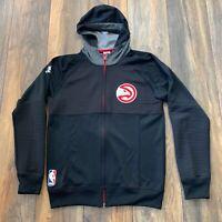 Auth Adidas Originals Atlanta Hawks Basketball Club Hoodie Full Zip NBA ATL Sz S