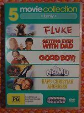 Fluke, Getting Even With Dad, Good Boy, Namu, Hans Christian Andersen (DVD) b3