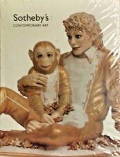 Michael Jackson Bubbles Jeff Koons 2001 Sotheby's Catalog RARE sealed slipcase