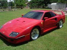 1986 Replica/Kit Makes Ferrari F40 kit