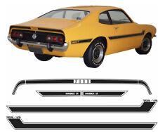 1977 - 1979 FORD MAVERICK GT MODEL BRAZILIAN - SIDE & TRUNK STRIPE DECAL