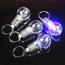 1pc Mini Colorful LED Flashlight Light Bulb Lamp Key Ring Keychain Lamp Torch