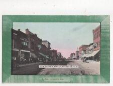 View On Main Street Aberdeen Sd Vintage Usa Postcard 507a