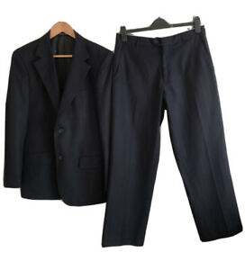 Mens ANTHONY WEISS Navy Blue Suit. Size S. GUC