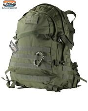 GREEN SPEC OPS PACK 45 LITRE BAG RUCKSACK MOLLE  Military backpack Army
