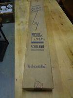 Box of 6 Vintage Golf Clubs Rowland Jones Cochranes Nicoll of Level Box Scotland