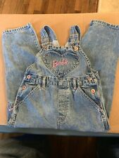Barbie Denim Overall Jeans Size 5