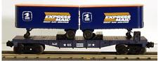 Lionel 6-6531 Express Mail Flatcar w/vans O GAUGE