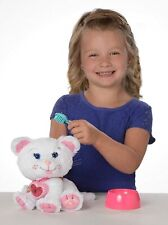 """Cabbage Patch Kids Adoptimals Rescue Me White Kitty Cat Pet Plush 9"""" Sounds Toys"""