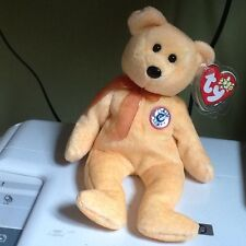 Ty E Bear beanie sunny see my other beanies for comb postage rare 2000
