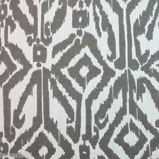 PERENNIALS FABRICS INDOOR/  OUTDOOR IKAT UPHOLSTERY ODYSSEY/PUMICE  BY THE YARD